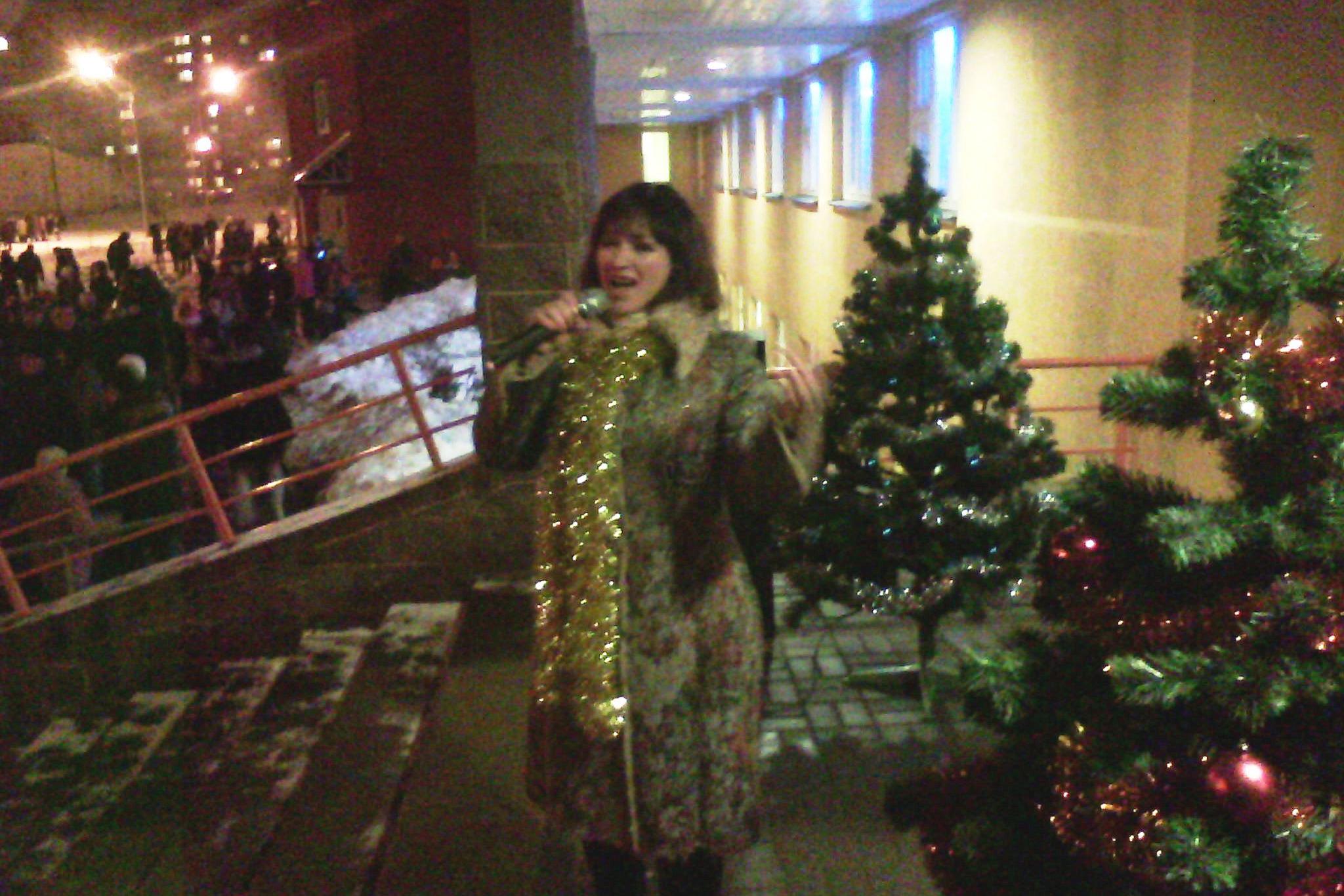 Новогодняя ночь в микрорайоне «Лошица», фото: сайт Администрации Ленинского района
