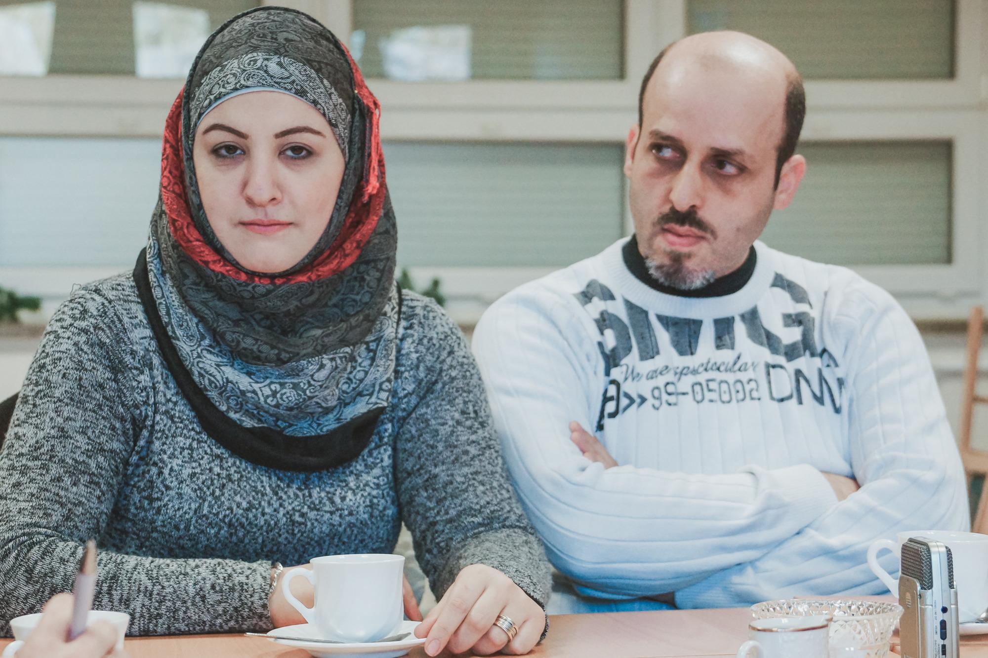Халима и Фади