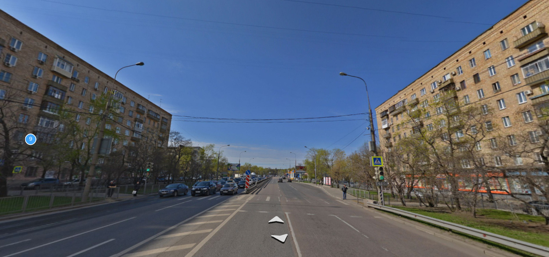 Жилые дома на Минской улице в районе площади Ромена Роллана. Скриншот: maps.yandex.ru