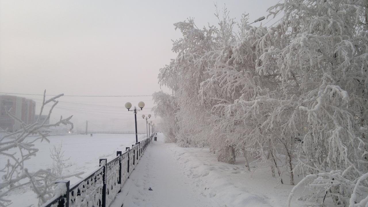 Якутск зимой, фото: Nesiditsa.ru