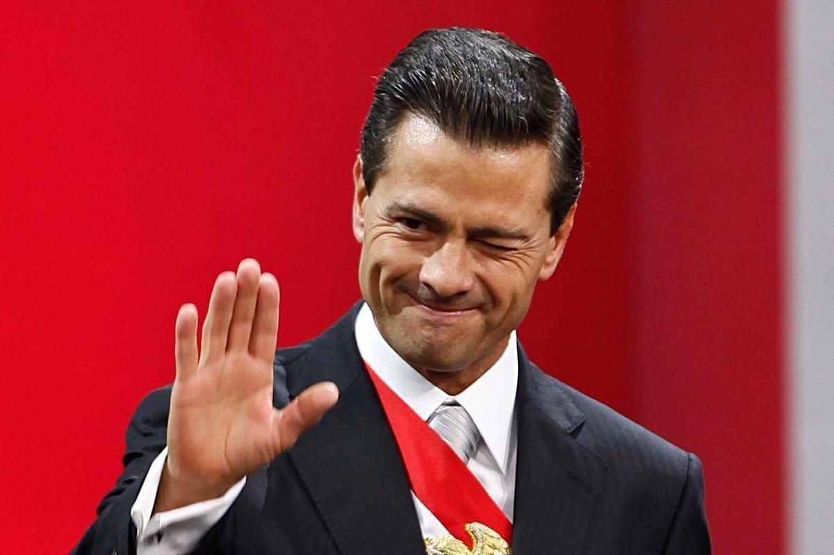 Президент Мексики Энрике Пенья Ньето. Фото: segundoenfoque.com
