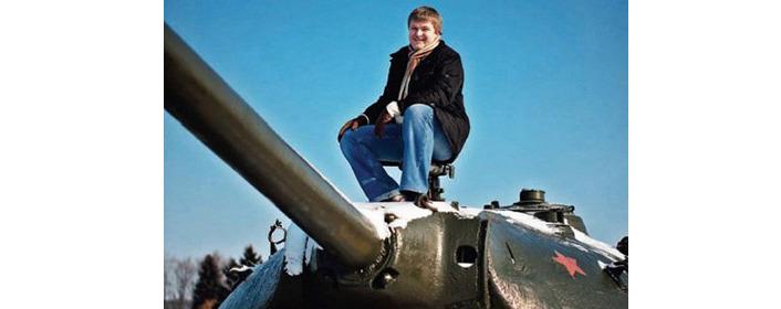 Создатель игры World of Tanks и житель Кипра, беларус Виктор Кислый. Фото: dev.by