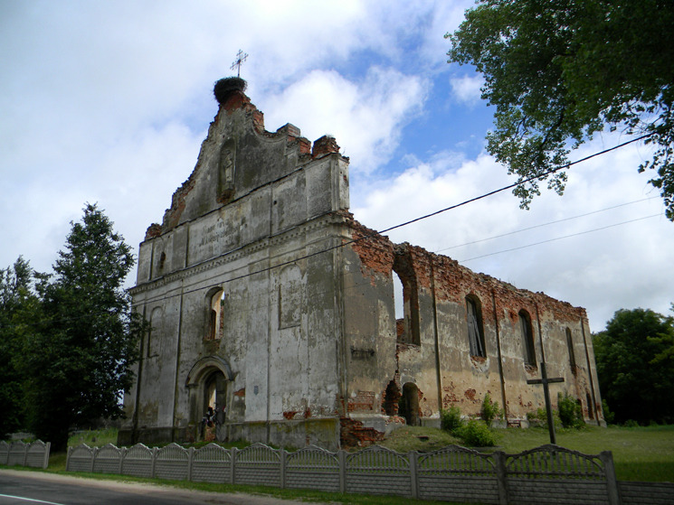 Церковь Вознесения Наисвятейшей Девы Марии, Зембин, фото: francis-maks.livejournal.com