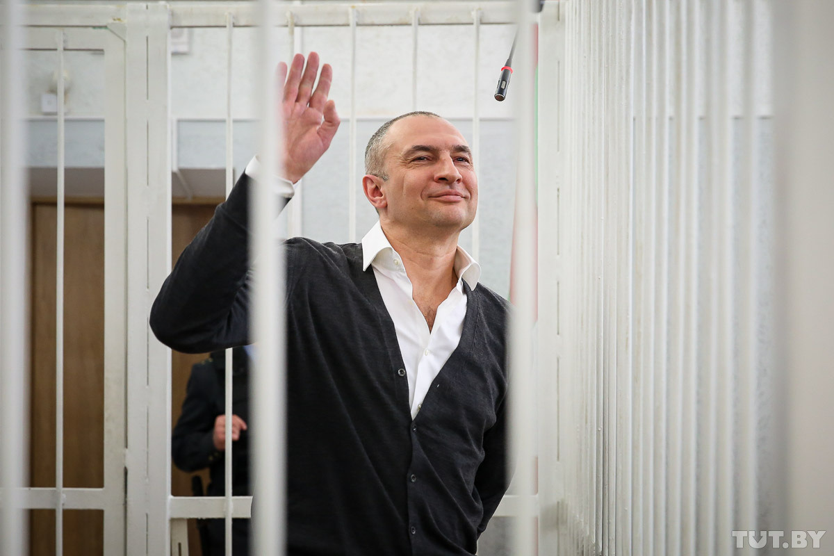 Александр Муравьев, экс-владелец «Мотовело» был приговорен к 11 годам колонии. Фото: Дарья Бурякина, TUT.by
