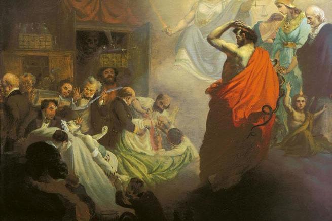 Александр Бейдеман. Гомеопатия, взирающая на ужасы Аллопатии