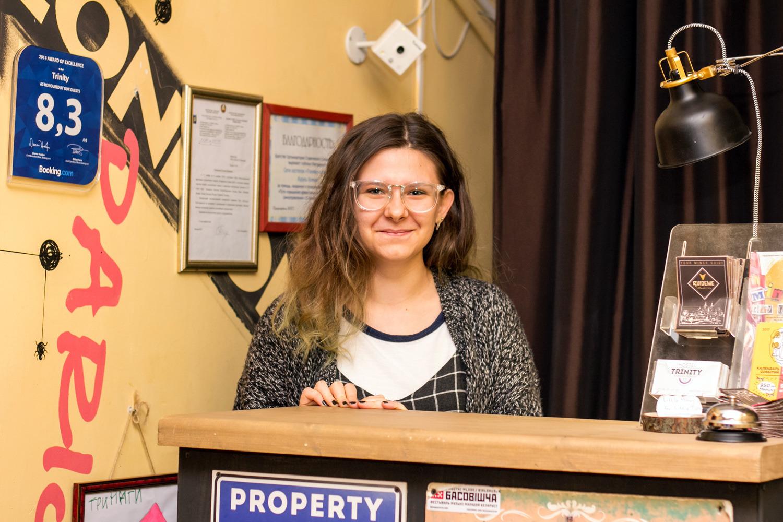 Валерия оканчивает ФМО БГУ. В «Тринити» она проходит свою преддипломную практику
