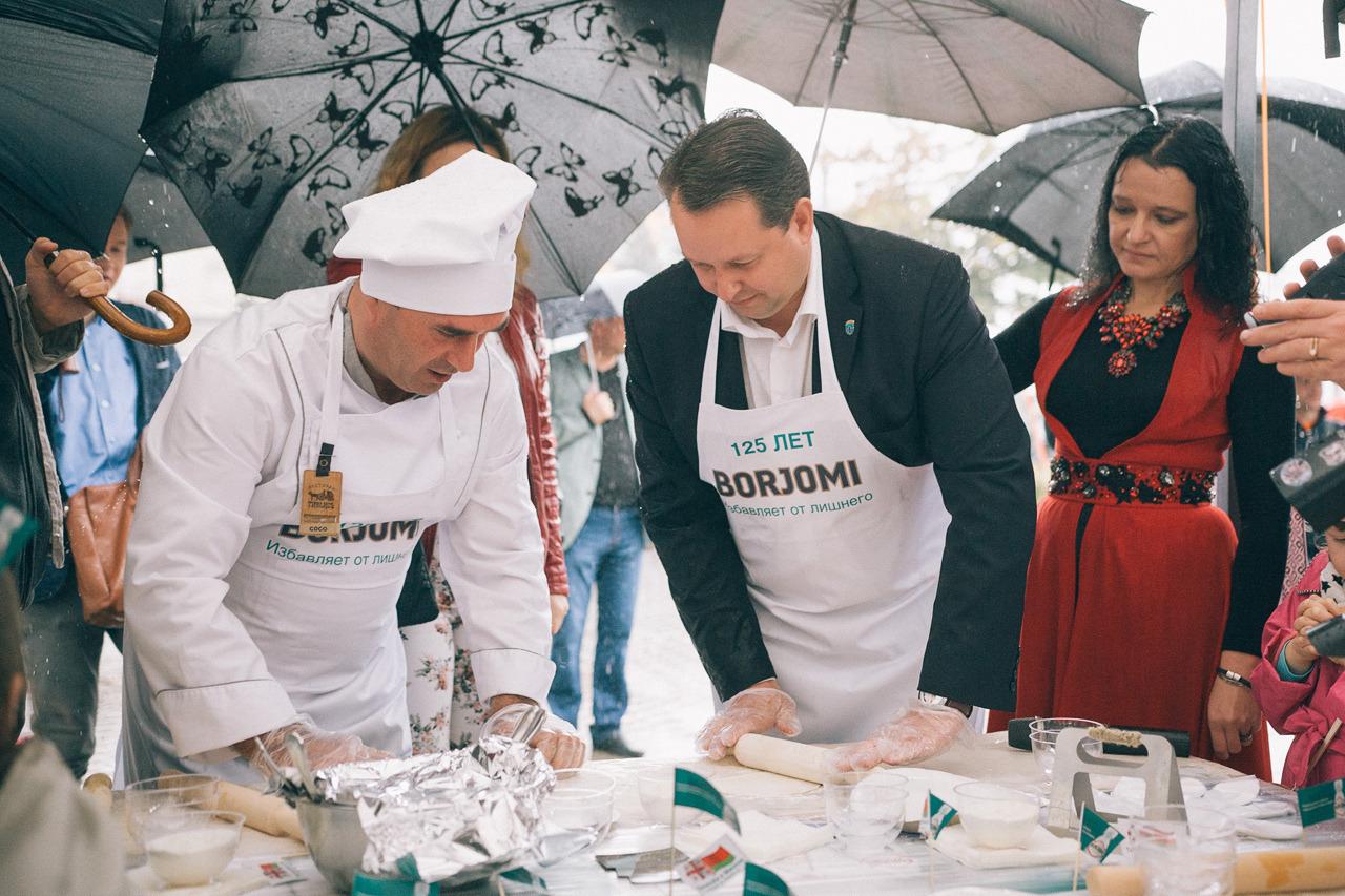 Андрей Шорец на фестивале национальных культур «Тбилисоба», Минск. Фото: Антон Мотолько