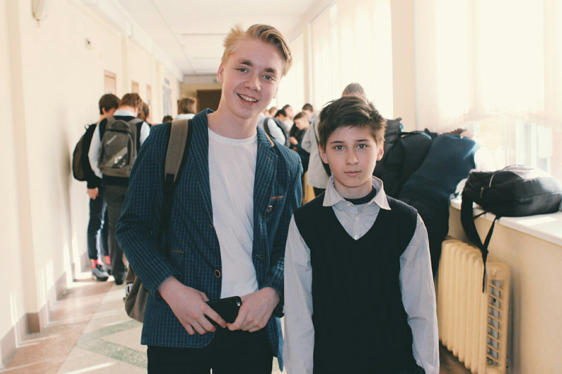 Паша (слева) и Рома