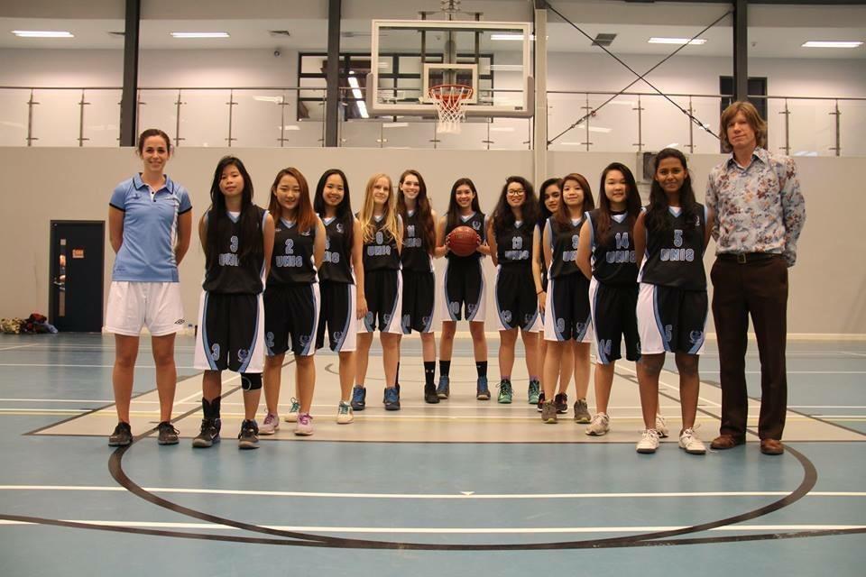 Школьная команда по баскетболу, фото: The Flame:UNIS Hanoi News