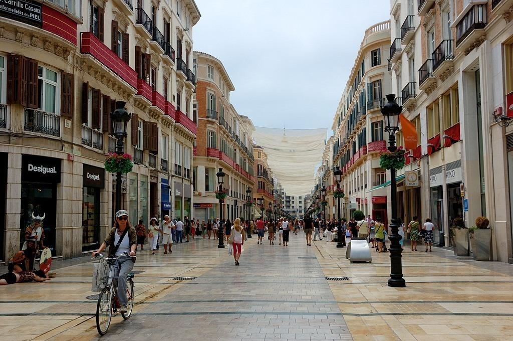 Улица Малаги, Испания. Фото: 097mcn.livejournal.com