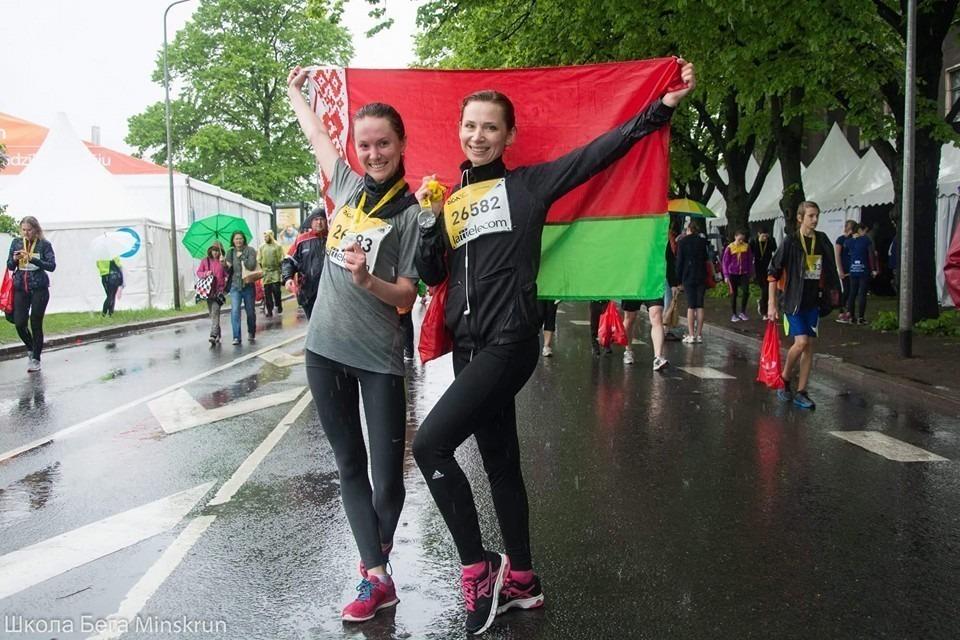 Ирина Корицкая-Корзюк, марафон в Риге, фото из FB