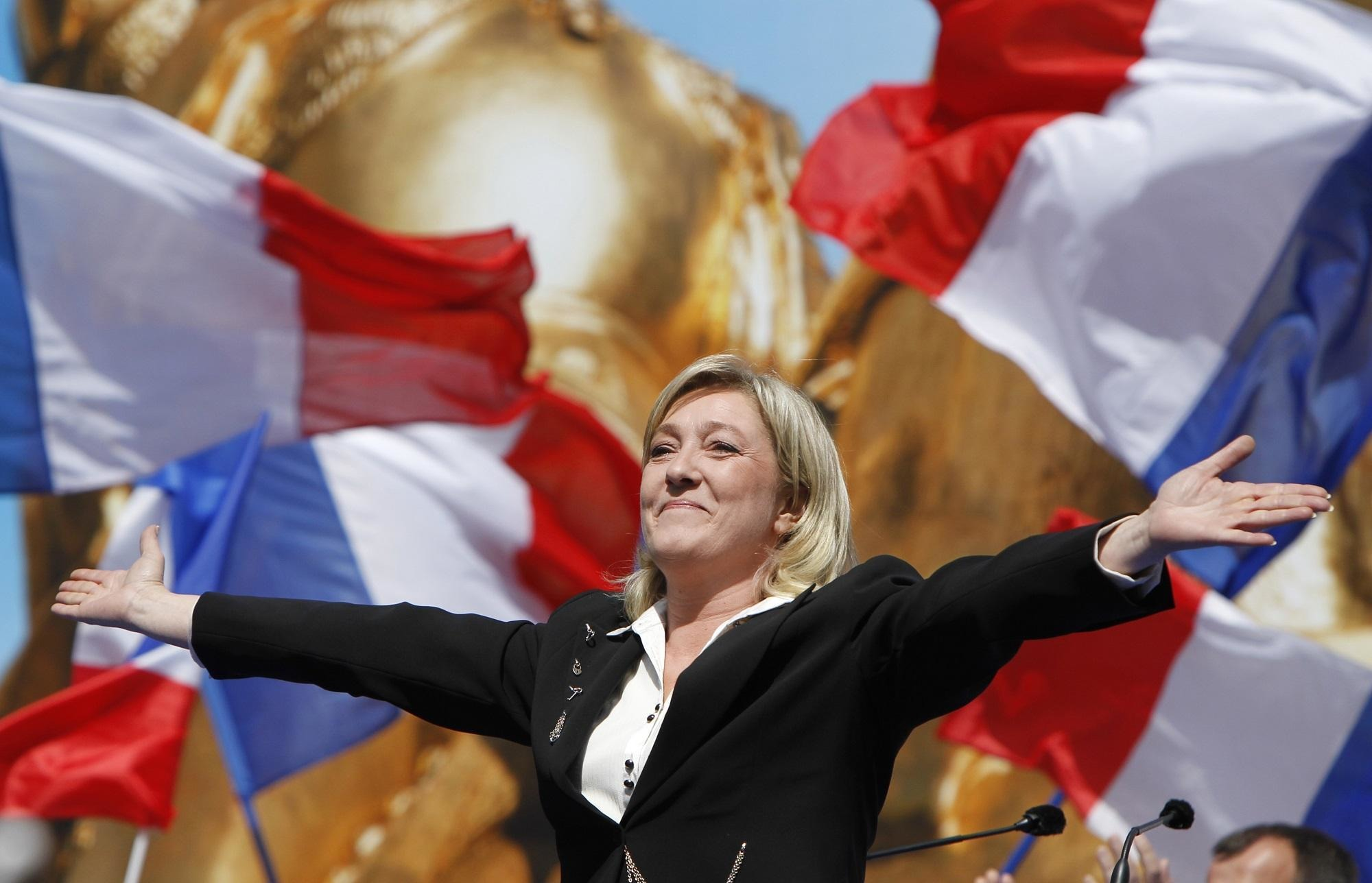 Марин Ле Пен, фото: AFP