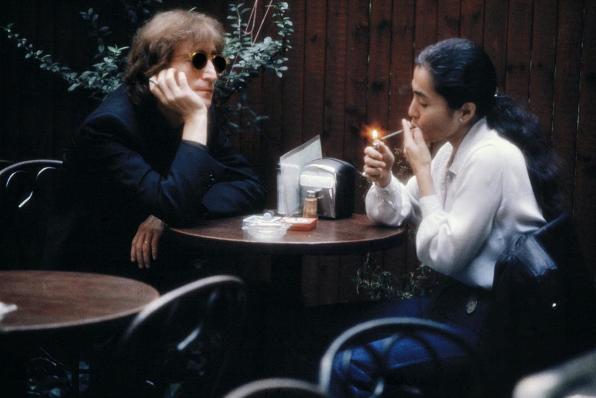 Джон Леннон и Йоко Оно. Фото: Kishin Shinoyama
