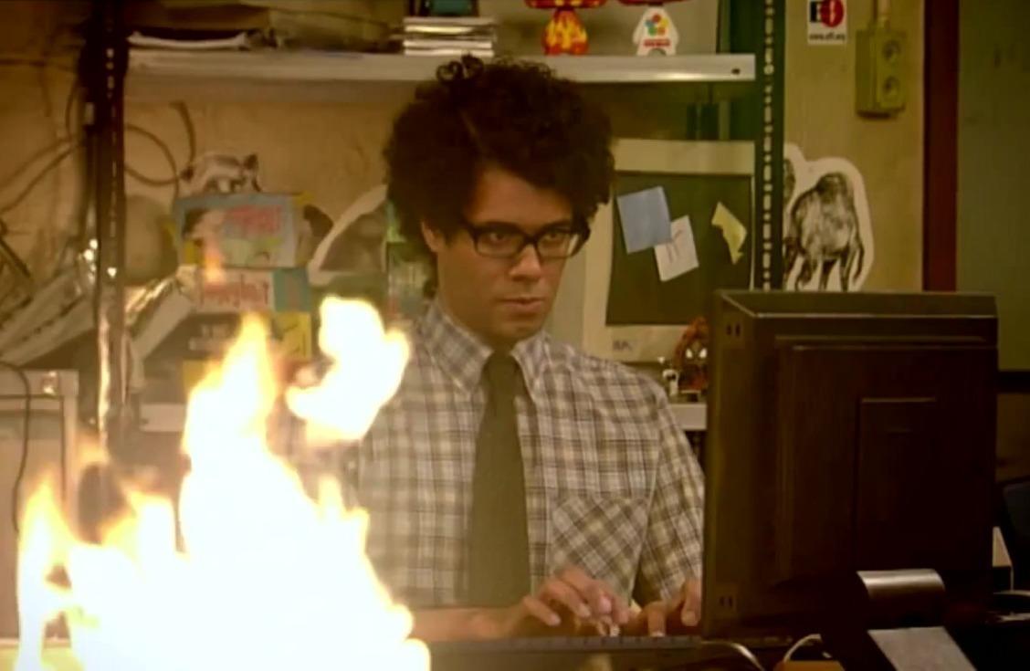 Кадр из сериала «The IT Crowd»