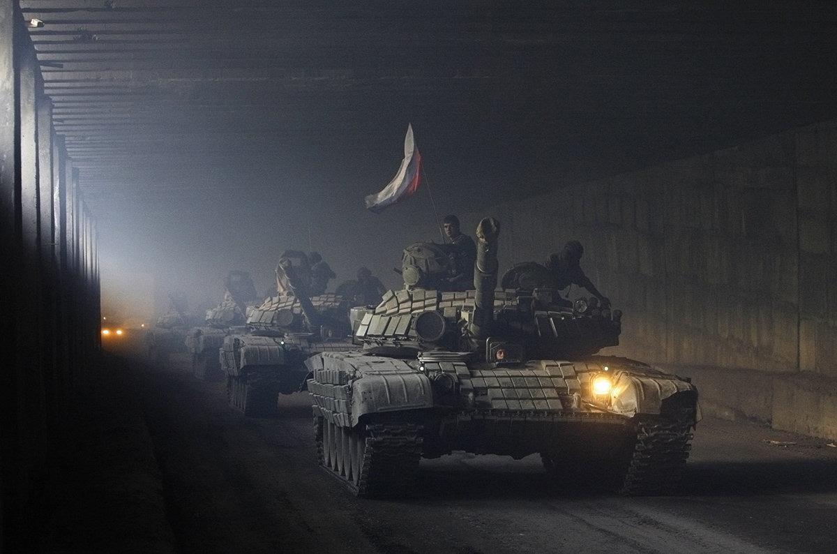 Российские войска в Южной Осетии, август 2008 год. Фото: Денис Синяков / Reuters