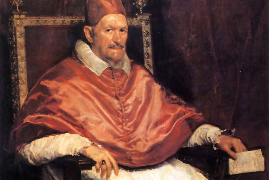 «Портрет папы Иннокентия X». Диего Веласкес