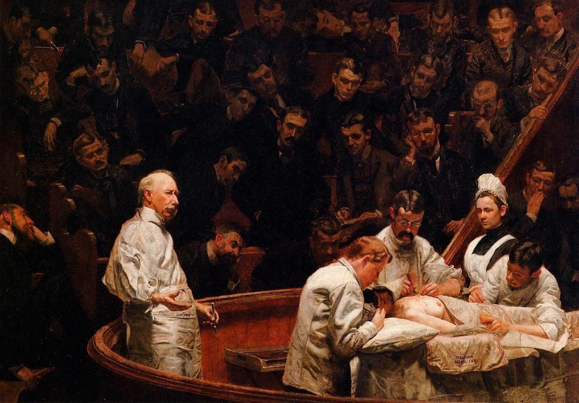 Томас Икинс, «Клиника Агню»