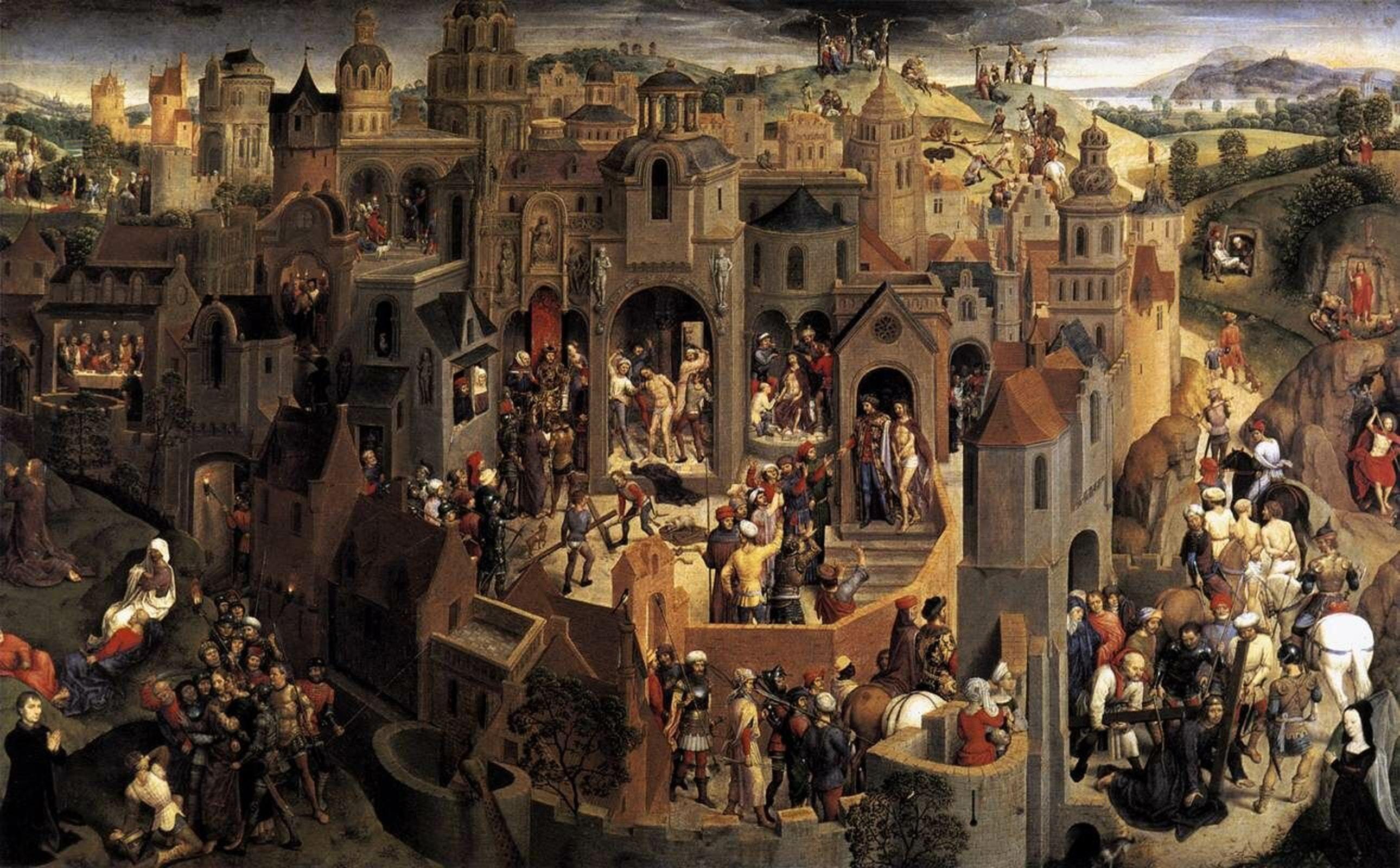 «Страсти Господни», Ганс Мемлинг, 1470-1471