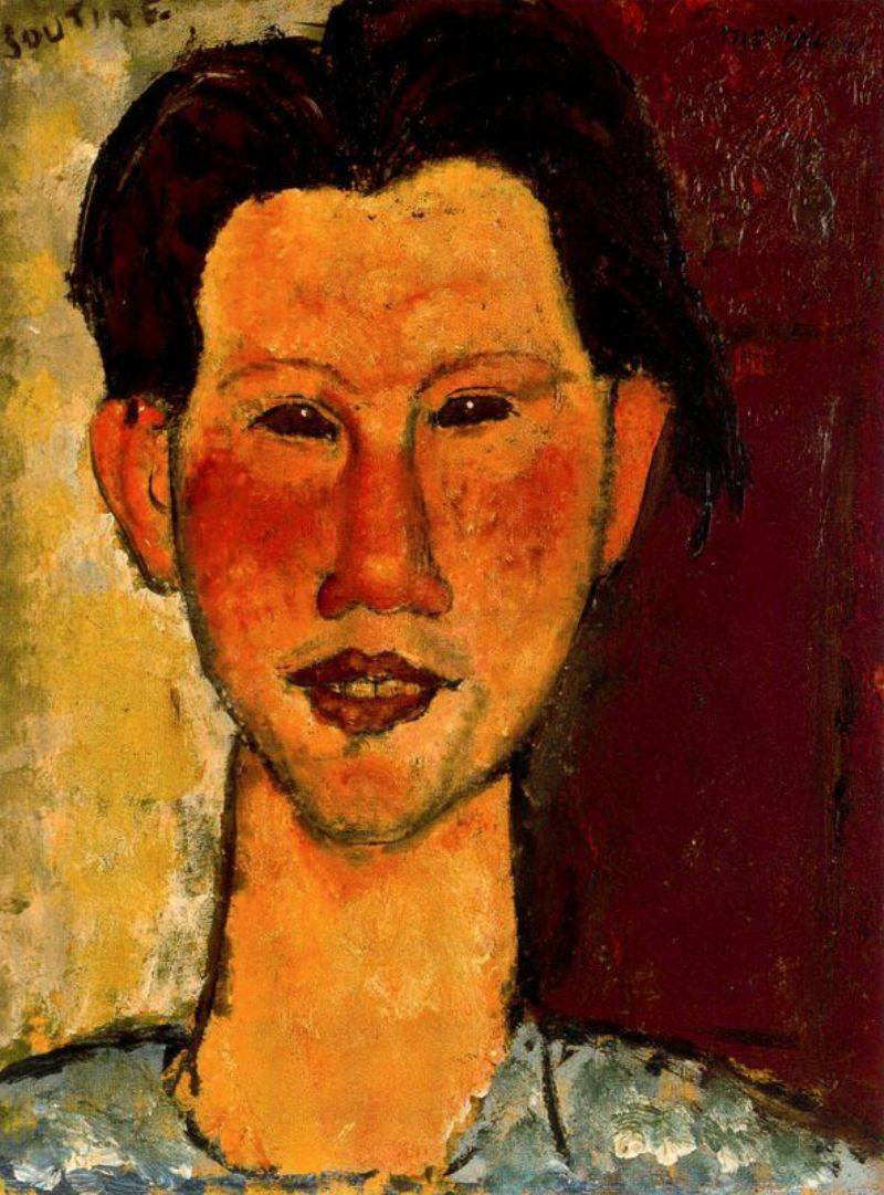 Амадео Модильяни. Хаим Сутин. Портрет. 1915 год