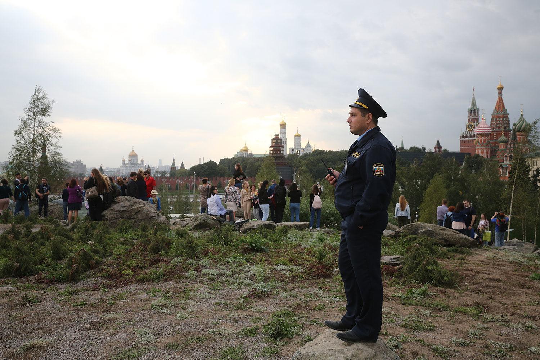 Парк Зарядье. Фото: Евгений Разумный / Ведомости