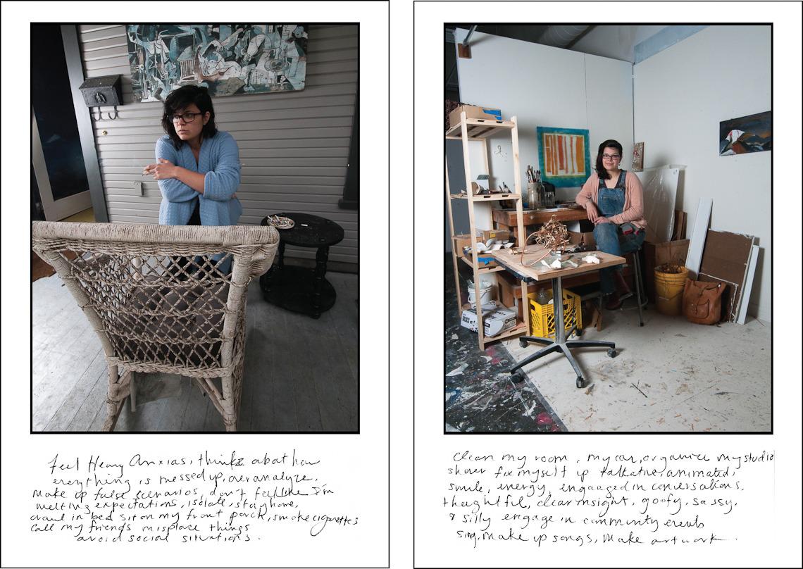 Фотопроект Лизы Оберт о людях, страдающих биполярным расстройством.