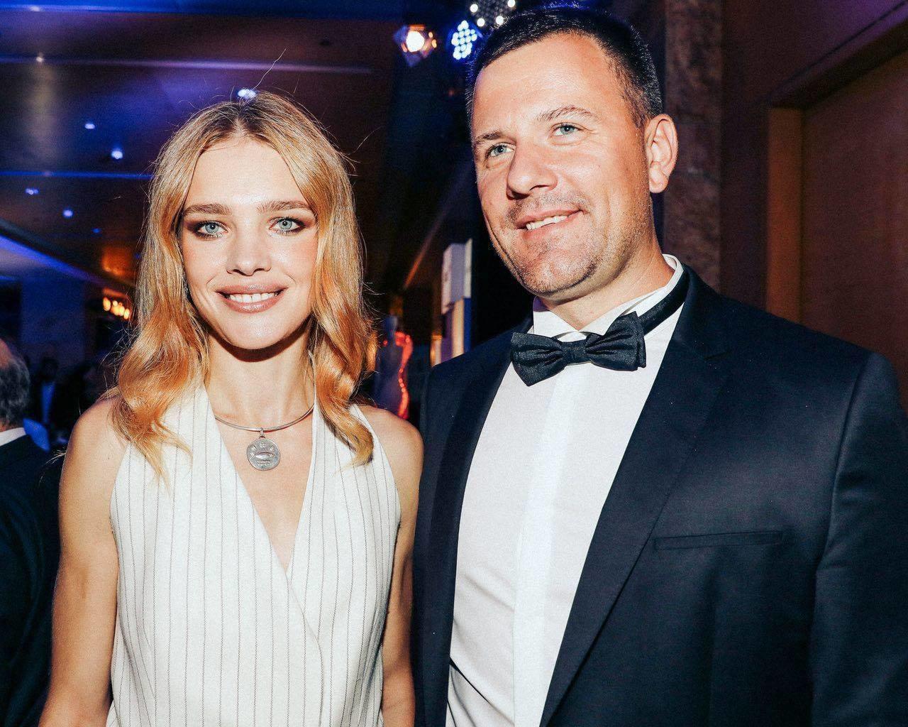 Юрий Гурский и Наталья Водянова, фото из FB