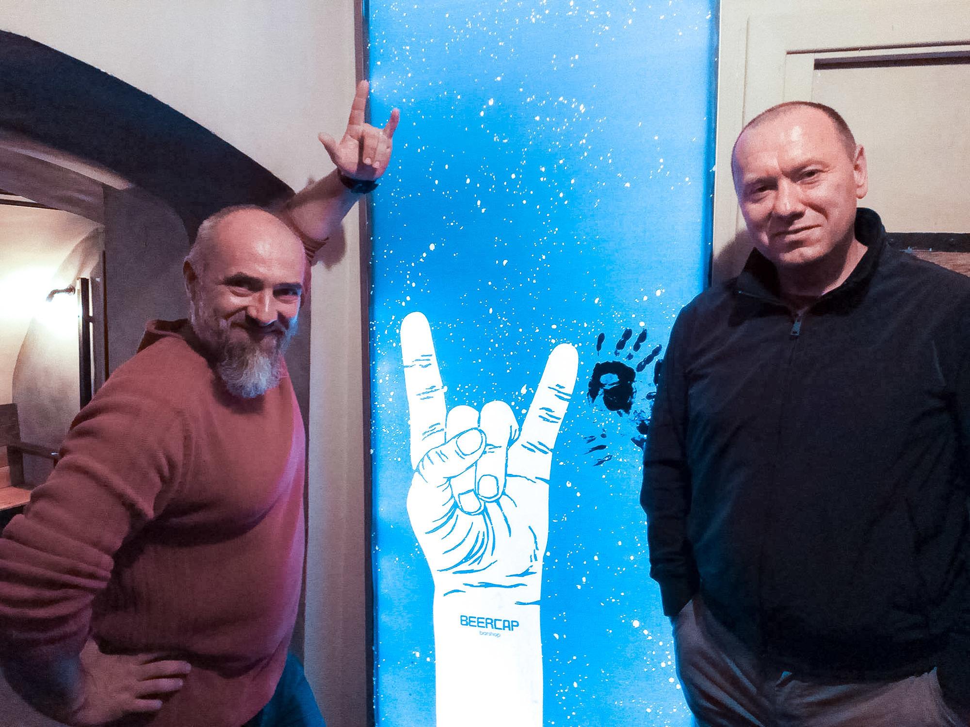 Руслан Мелешко и Павел Гуща
