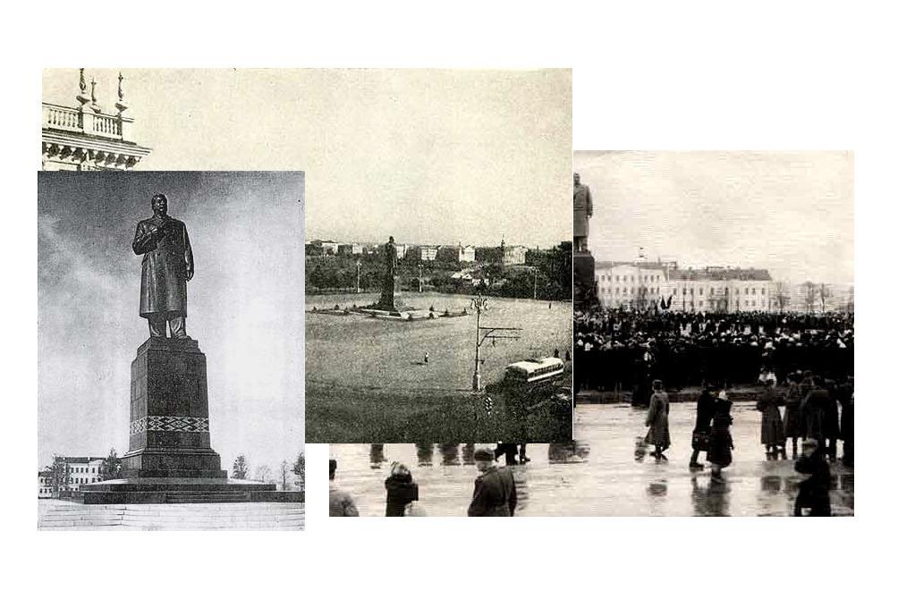 Памятник И.В. Сталину в Минске