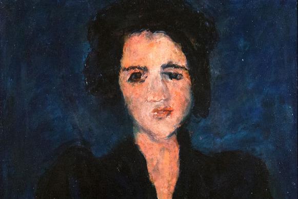 Фрагмент картины Ева, Сутин Хаим, 1928 г., Корпоративная коллекция Белгазпромбанка