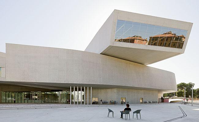 Музей современного искусства MAXXI в Риме, проект Захи Хадид