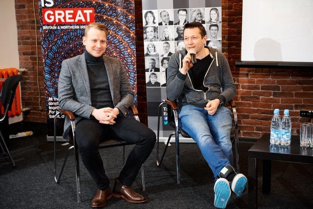Макс Каменков (слева) и Дмитрий Дудин (справа)