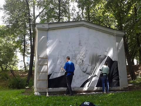Фото из ФБ группы «Васіль Быкаў у горадзе».