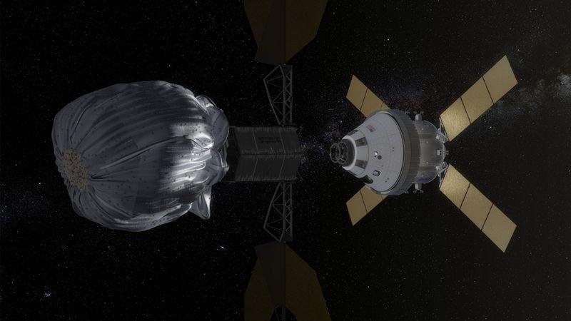 Проект по поимке астероида, модель