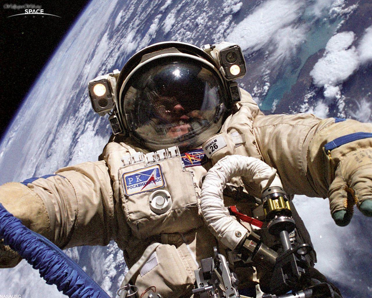 Новый русский астронавт