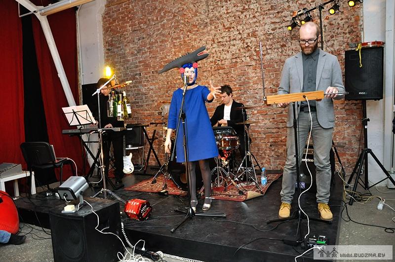 ЦЭХ. Бенька на концерте «Мойдодыр», январь, 2014. Фото: budzma.by