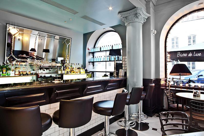 Интерьер кафе Bistro de Luxе