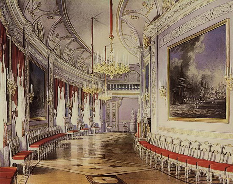 Гатчинский дворец, тронный зал