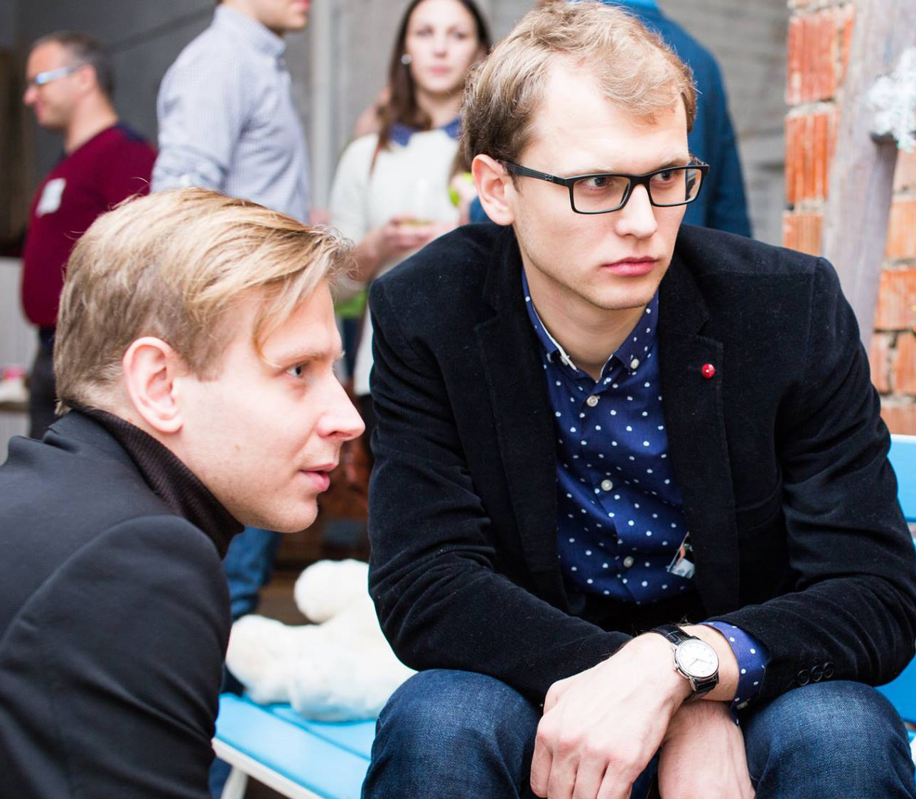 Евгений Невгень и Максим Каменков