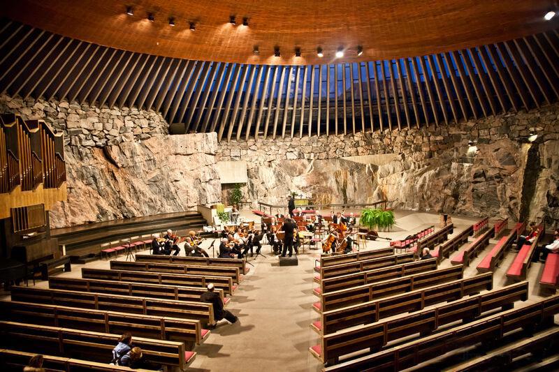 Церковь в скале, Хельсинки