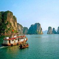 Thumb holiday in vietnam