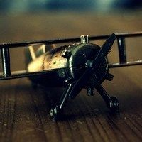 Thumb airplane model toy mood hd wallpaper