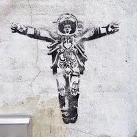Thumb the new apostle graffiti
