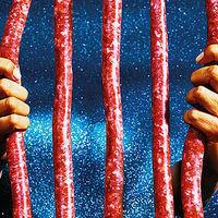 Thumb meat sausageprison