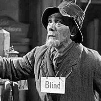 Thumb blindman m